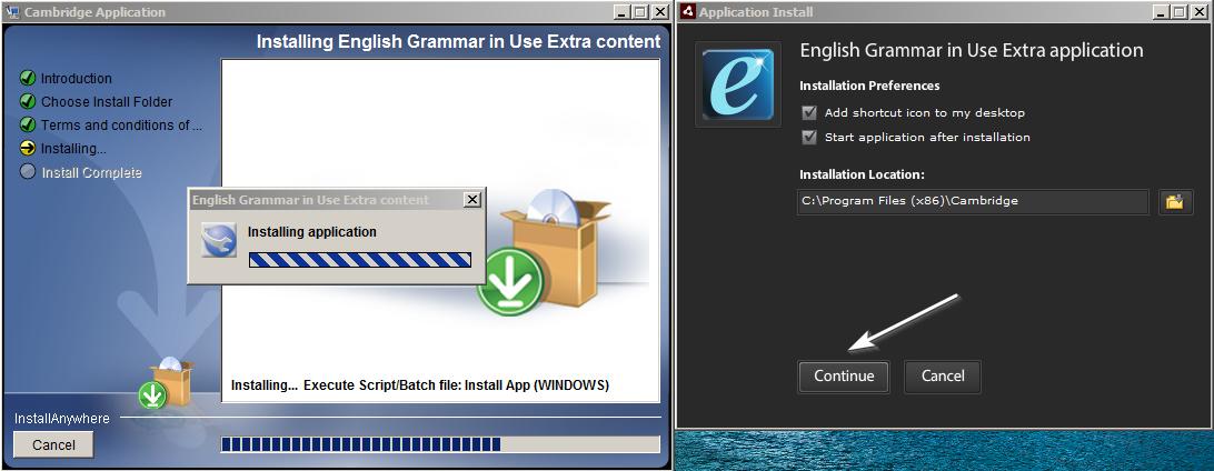 Hướng dẫn tải và cài đặt phần mềm trong đĩa CD English Grammar